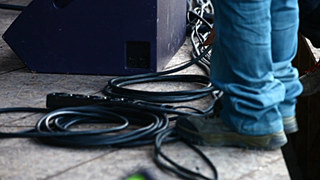 AVL Projekt i Sommercable stage cables