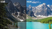 SDV vs HDR video
